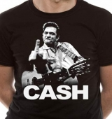 T-SHIRT JOHNNY CASH FINGER